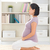 mujer · meditando · casa · prenatal · yoga - foto stock © szefei