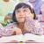 anya · lánygyermek · bent · olvas · könyv · mosolyog - stock fotó © szefei