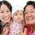üç · nesiller · Asya · aile · aile · portre · açık - stok fotoğraf © szefei