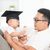 baby with graduation cap holding certificate stock photo © szefei