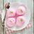 top · roze · ijs · kom · schep - stockfoto © szefei