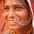 hagyományos · indiai · női · mosolyog · portré · nő - stock fotó © szefei