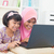 délkelet · ázsiai · gyerekek · nők · szörfözik · internet - stock fotó © szefei