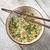asian dried ramen noodles bowl top view stock photo © szefei
