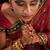индийской · девушки · медитации · красивой · молодые · белый - Сток-фото © szefei