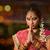 indian girl praying stock photo © szefei