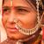 hagyományos · indiai · női · portré · gyönyörű · nő - stock fotó © szefei