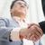 asian business men handshaking stock photo © szefei