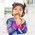 Asya · aile · yeme · dondurma · mutlu · aile · ev - stok fotoğraf © szefei
