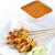 ázsiai · csemege · tyúk · finom · fából · készült · étkezőasztal - stock fotó © szefei
