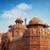 piros · erőd · kívül · kilátás · Delhi · unesco - stock fotó © szefei