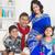 portrait of happy indian family stock photo © szefei