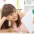 молодые · азиатских · женщину · Cute · очки - Сток-фото © szefei