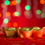 Chinese New Year decorations gold ingots with copy space stock photo © szefei