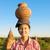 портрет · азиатских · традиционный · женщины · фермер - Сток-фото © szefei