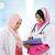 kettő · délkelet · ázsiai · muszlim · orvosi · orvos - stock fotó © szefei