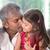 padre · bacio · figlia · felice · indian - foto d'archivio © szefei