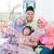 izgatott · délkelet · ázsiai · család · családi · otthon · muszlim - stock fotó © szefei