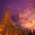 pagode · birmânia · Mianmar · noite · mundo · rio - foto stock © szefei