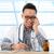 азиатских · медицинской · врач · рабочих · столе · молодые - Сток-фото © szefei