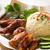 singapore style hainan chicken rice stock photo © szefei