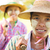 Мьянма · фермер · портрет · два · лице · женщину - Сток-фото © szefei