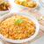 indio · comida · vegetariana · arroz · curry · mesa · de · comedor · alimentos - foto stock © szefei