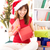 dentro · Navidad · regalo · hermosa · Asia · femenino - foto stock © szefei