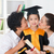 anaokulu · mezuniyet · Asya · aile · büyükbaba · veya · büyükanne · ebeveyn - stok fotoğraf © szefei