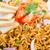makarna · yemek · plaka · pişirme · gıda - stok fotoğraf © szefei