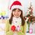 Noel · hediyeler · el · güzel · Asya · kadın - stok fotoğraf © szefei