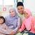délkelet · ázsiai · család · minőség · idő · otthon - stock fotó © szefei