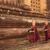 délkelet · ázsiai · fiatal · buddhista · sétál · reggel - stock fotó © szefei