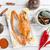 調理済みの · 青 · カニ · ホット · 辛い · ソース - ストックフォト © szefei