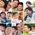 collage photo father day concept stock photo © szefei