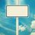 blank road sign stock photo © szefei