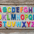 colorido · inglês · alfabeto · conjunto · grunge - foto stock © szefei