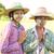традиционный · Мьянма · женщины · Фермеры · портрет · фермер - Сток-фото © szefei
