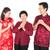chinese family greeting stock photo © szefei