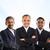 multiracial asian business team stock photo © szefei