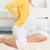 mulher · grávida · de · volta · massagem · massagista · casa · corpo - foto stock © szefei