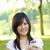 student · shot · dziewczyna · telefonu - zdjęcia stock © szefei