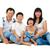 fullbody happy asian family stock photo © szefei