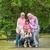 ázsiai · család · szabadtér · boldog · délkelet · életstílus - stock fotó © szefei