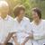 group of asian seniors at outdoor park stock photo © szefei