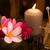 bien-être · spa · bougies · fleur · massage · table - photo stock © szefei