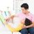 matka · baby · czytania · książki · uśmiechnięty - zdjęcia stock © szefei