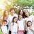 group of asian multi generations family stock photo © szefei