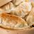 chinese food pan fried dumplings stock photo © szefei