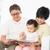 asian family reading stock photo © szefei